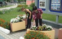 Летняя практика для воспитанников Разуменского Дома детства