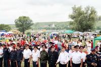 ЖНК ЖБК-1 принял участие в ежегодном фестивале казачьей культуры